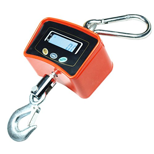Horizon 500 KG / 1100 LBS Digital Crane Scale Heavy Duty Industrial Hanging Scale