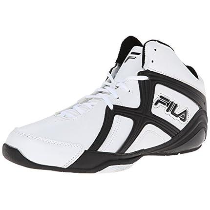 Fila Men's Revenge 2 Basketball Shoe, White/Black/...