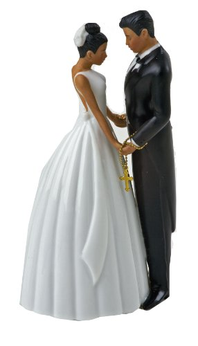 Jamie Lynn Ty Wilson Cake 5-1/2-Inch Tall Topper Figurine, Hispanic Couple