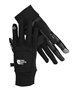 NORTH FACE ETIP GLOVE - the perfect way to use a touch phone with gloves!, Colour: Graphite Grey Heather (A55), Size: M