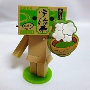 ご当地限定 おみやげダンボー 京都・宇治茶マスコットフィギュア