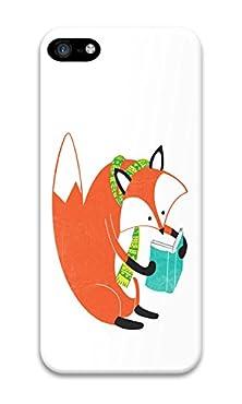 buy Phone Case Custom Iphone 5C Phone Case Fox Reads Polycarbonate Hard Case For Apple Iphone 5C Case