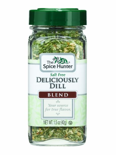 The Spice Hunter Deliciously Dill Blend, 1.5-Ounce Jars (Pack of 6)