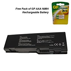 Dell Inspiron E1705 Laptop Battery - Premium Powerwarehouse Battery 9 Cell