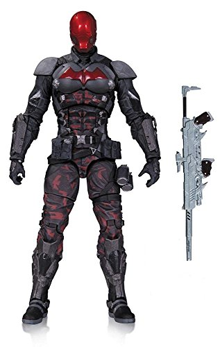 "Super Hero Batman Arkham Knight Red Hood 6.75"" Hero Series Action Figures Toys"