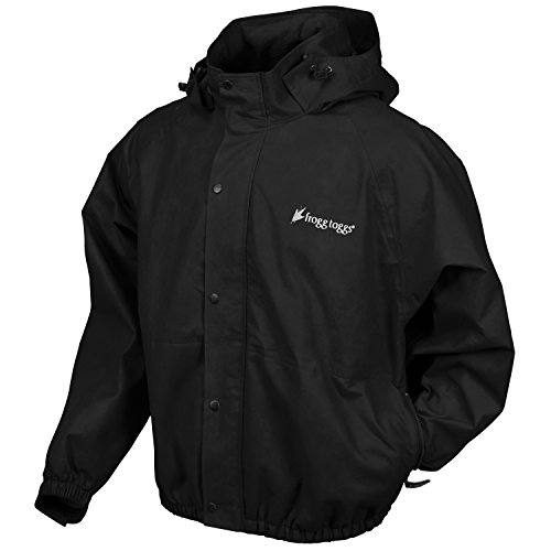 Frogg Toggs Pro Action Jacket Black L PA63122-01LG
