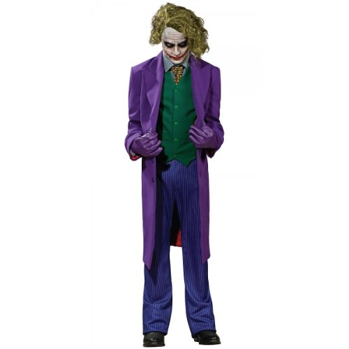 Super Deluxe The Joker Costume - Medium - Chest Size 40-42 at Gotham City Store