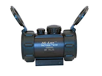 Hi-Lux Optics Red-Dot Series Riflescope, Matte Black by Hi-Lux