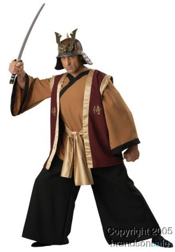 Men's Deluxe Samurai Halloween Costume (X-Large)