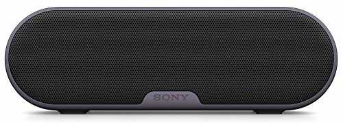 Sony-SRS-XB2-tragbarer-kabelloser-Lautsprecher-Extra-Bass-wasserabweisend-NFC-Bluetooth-12-Stunden-Akkulaufzeit-schwarz