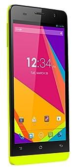 BLU Studio 5.0 S II D572a Unlocked GSM 4G HSPA+ Quad-Core Android Smartphone - Yellow