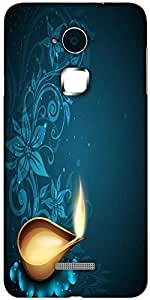 Snoogg greeting card for diwali celebration in india Solid Snap On - Back Cover all Around protection For Coolpad Note 3 (White, 16GB)
