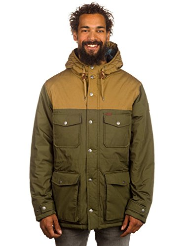 Giacca Jacket Giubbotto Element Helmlock Military Green (M)