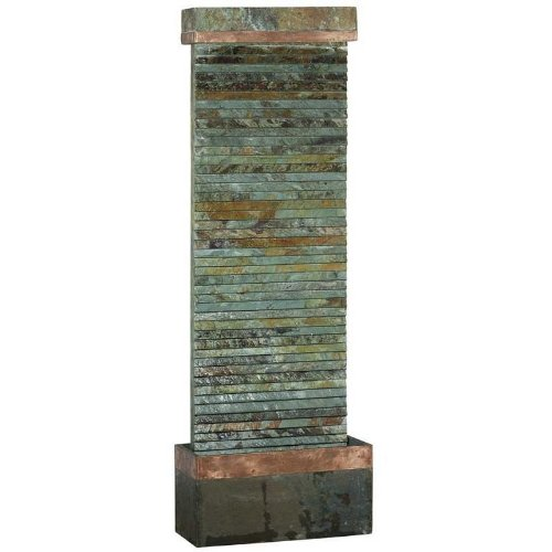 Kenroy Home 50265SLCOP Castle Rock Indoor/Outdoor Fountain