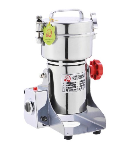 400G Stainless Steel High-Speed Grinder Mill Family Medicial Mill Herb Grinder,Pulverizer