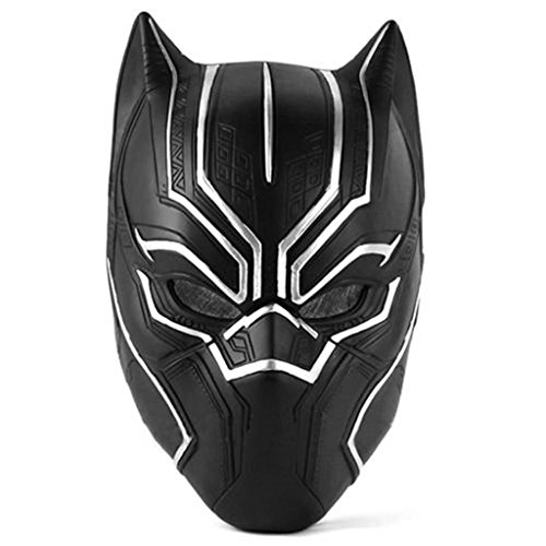 Cosplayfun Black Panther PVC Mask Helmet Props for Adult Halloween Costume