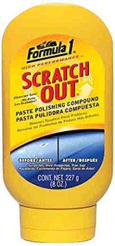 Formula 1 613191 Scratch Out Paste Rubbing Compound - 8 oz.