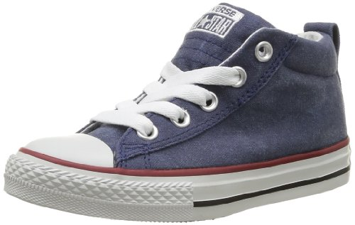 CONVERSE Unisex-Child Chuck Taylor All Star Street Mid Trainers 310582-31-10 Marine 12 UK, 30 EU