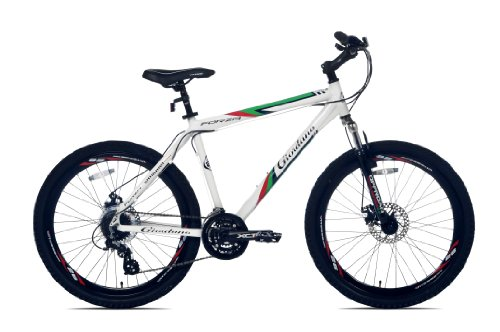 Giordano Forza Mountain Bike (White, 26-Inch)