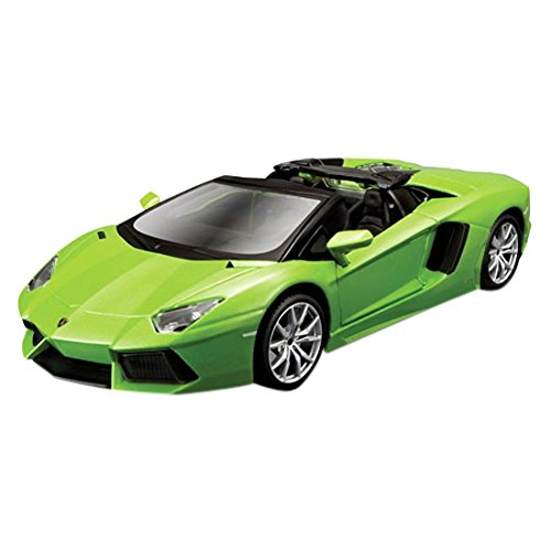Maisto Assembly Line Lamborghini Aventador Roadster Die Cast Model Kit (1:24 Scale) (Lamborghini Model Car compare prices)
