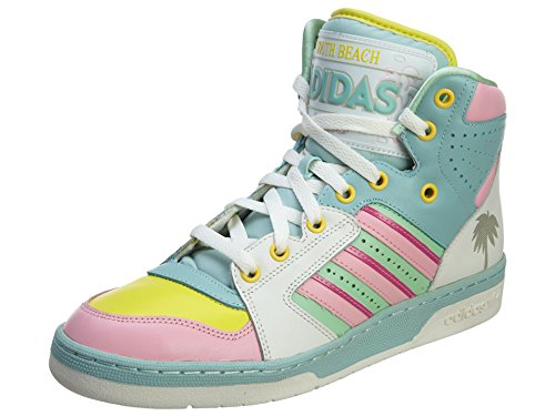 Adidas Originals X Jeremy Scott License Plate Miami,White Vapour,10.0 M US