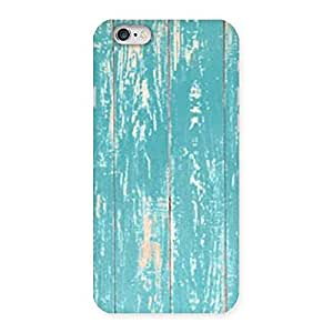 Impressive CyanBlue Bar Texture Back Case Cover for iPhone 6 6S