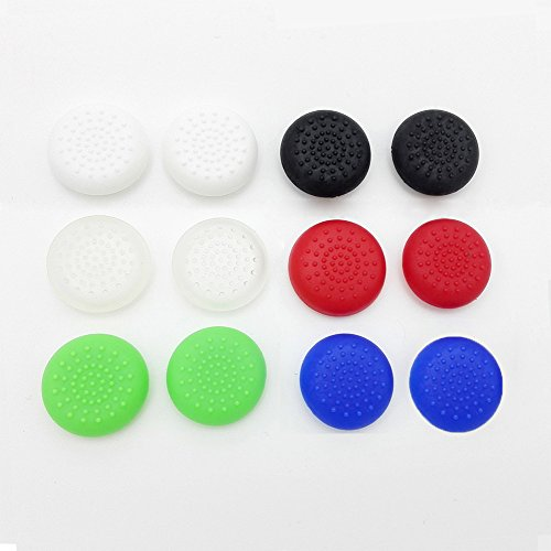 KKen 20pcs Xbox one TPU Analog Controller Thumb Stick Grips Cap Cover general Game Accessories Replacement Parts