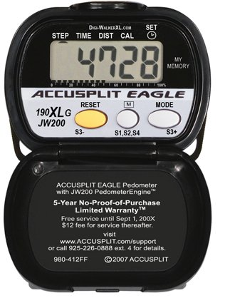 K30CNE Accusplit AE190XLG Goal Setting Pedometer
