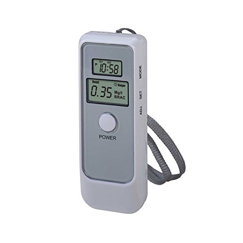Shopantic(TM)Digital LCD Pocket Alcohol Breath Tester Analyzer Breathalyzer Breathalyser Detector Test Details Dual Blood YB184-SZ+