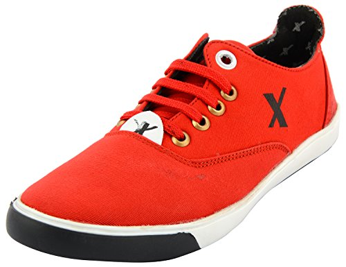 Styliano Men's Red Synthetic Casual Shoes - 9 UK