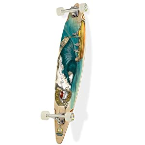 Sector 9 Bamboo Teahupoo Pintail Complete Longboard