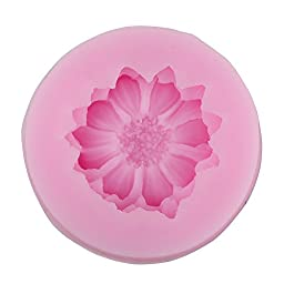 niceeshop(TM) Daisy Flower Shape Decorating Party Silicone Cake Mold Fondant Baking Mold,Random Color