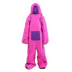 DOPPELGANGER OUTDOOR(ドッペルギャンガーアウトドア) ヒューマノイドスリーピングバッグ 人型寝袋 ver.4.0 DS-06 Carol [最低使用温度 5度]