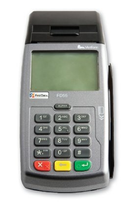 First Data FD55 Dual Com Credit Card Machine, Terminal, N-FD-55, 160Mb, Internet, Ethernet and Dial Connectivity, Integrated Thermal Printer, USB Port, PCI PED Compliant