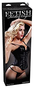 Pipedream Products Fetish Fantasy Lingerie Classic Corset - Small