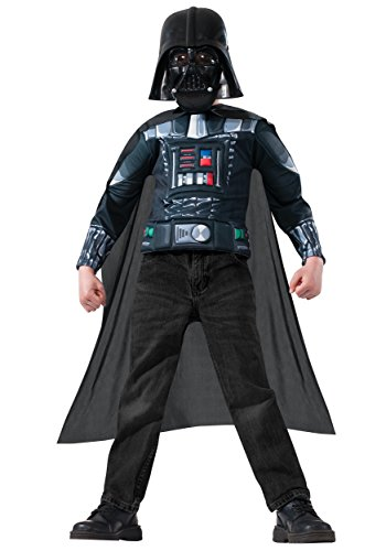 Star Wars Darth Vader Muscle Chest Dress-Up Shirt Set