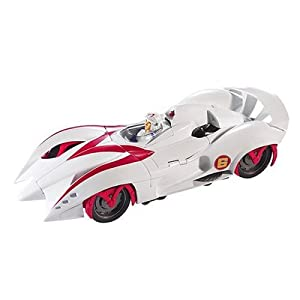 Mattel Speed Racer Hero Battle Morph Mach 6