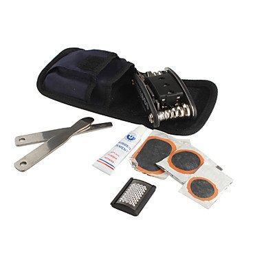 Xs 15-In-1 Stainless Steel Multi-Function Bicycle Repair Tool Kit Set