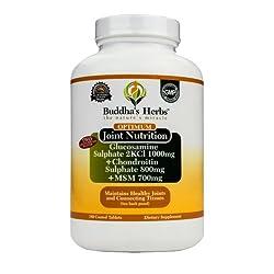 Buddha's Herbs Premium Glucosamine / Chondroitin / MSM Complex