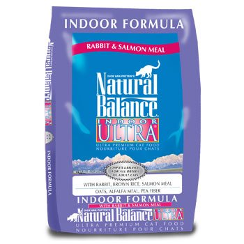 Image of Natural Balance Indoor Ultra Rabbit & Salmon Meal Cat Food, 10 lbs.