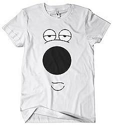 Family Guy t shirt brian costume Brian_dog_white