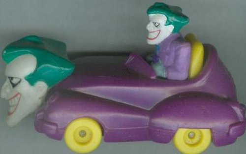 Batman: The Animated Adventures - Joker Car (Mcdonalds) 1993 - 1