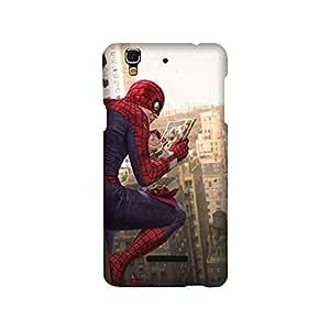 YU Yureka PLUS Designer Printed Covers (YU Yureka PLUS Back Cover) - Superhero Spiderman