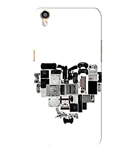 EPICCASE Game zone Mobile Back Case Cover For Oppo F1 Plus (Designer Case)