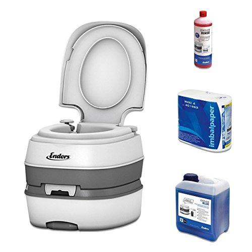 wc-chimico-portatile-per-campeggio-starter-set-blue-25-enders-deluxe-con-liquido-sanitario-e-carta-i