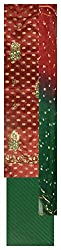 Hi Style Fashion Women's Cotton Unstitched Dress Material (Red and Green)