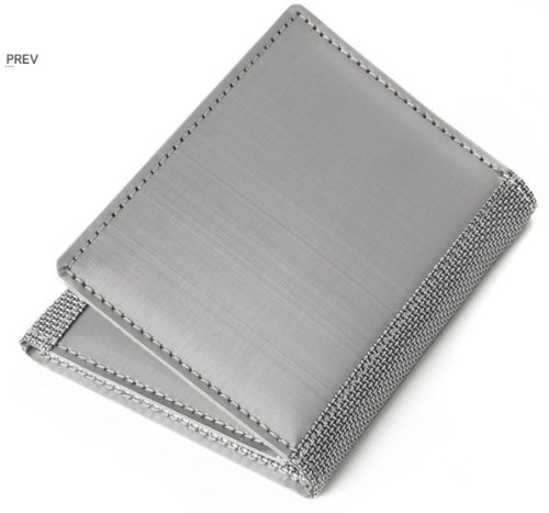 Stewart Stand Stainless Steel Tri-Fold Wallet Technical
