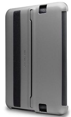 Marware MicroShell Folio Leichte Hülle für Kindle Fire HD 7 Silbergrau (nur geeignet für Kindle Fire HD 7 [Vorgängermodell])