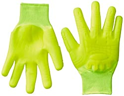 Mad Grip F50 Thunderdome Impact Gloves, XX-Large, High Vis Yellow