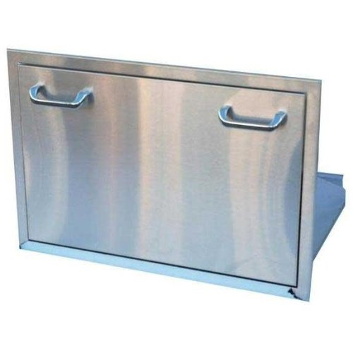Stainless Steel Ice Chest Drawer front-610634